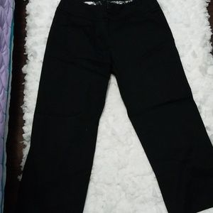 White Black Market Crop Pants